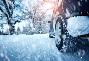 Fahren lernen bei Schnee und Glätte im Winter